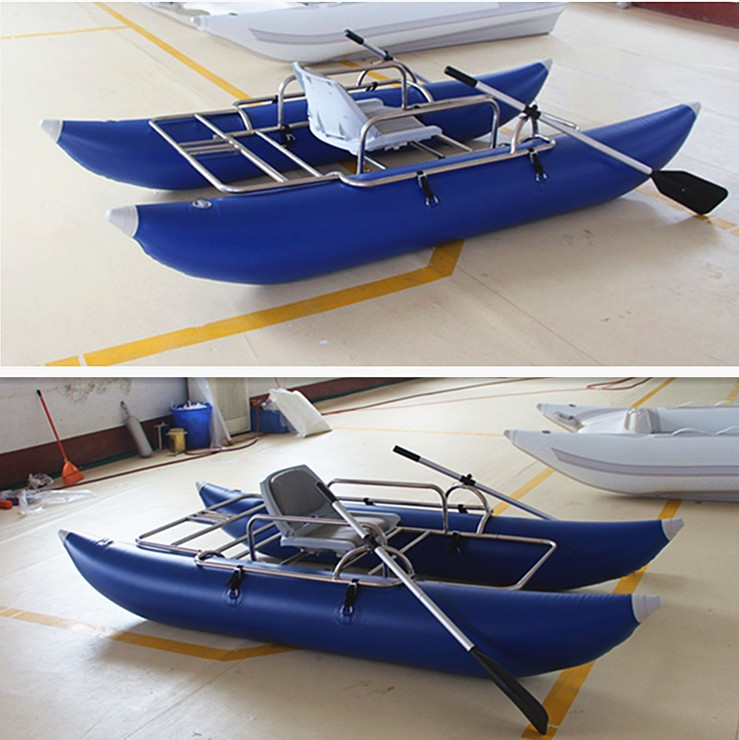 Ce brand inflatable pontoon fishing boat new design buy for Fishing boat brands