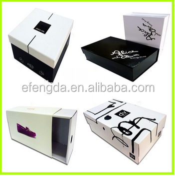 New products custom mini shoe box made in china