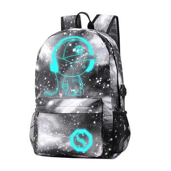 bae5dd0abcbb Ineo School Backpack Cool Luminous School Bag Unisex Galaxy School Bag With  Usb Bag For Boys Girls Teens - Blue - Buy School Bag,Cool Luminous School  ...