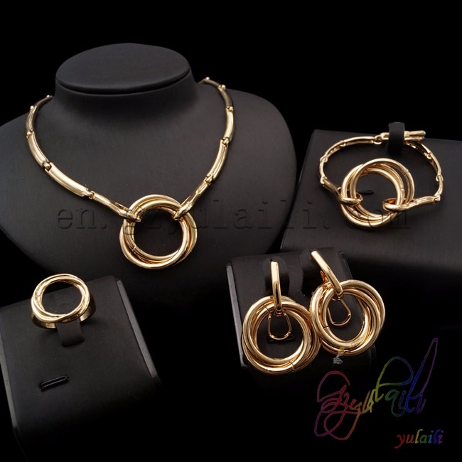22k Gold Plated Jewelry Sets Bulk Purchasing Website Arabic Gold