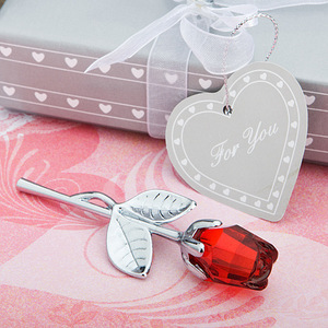 Crystal Rose European Creative Wedding Gifts Small Gifts