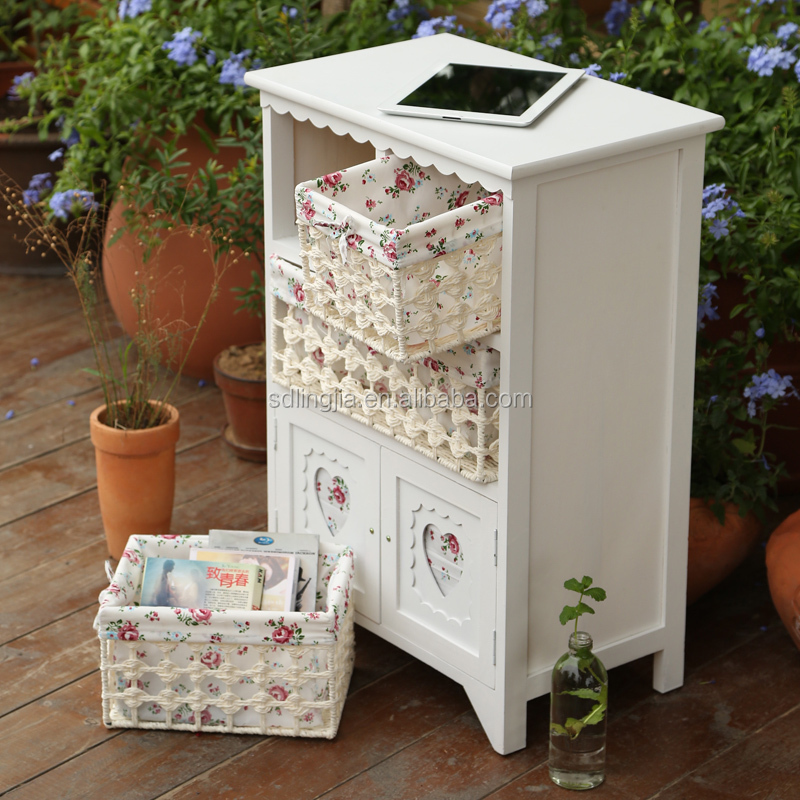 Hot Selling Wooden Storage Cabinet Furniture Hobby Lobby With Wicker Drawers Buy Furniture