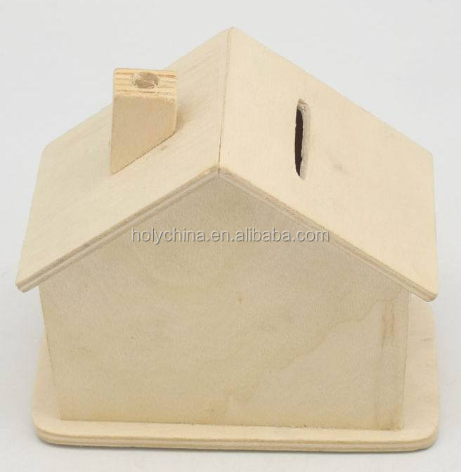 hot sale high quality house shaped piggy bank