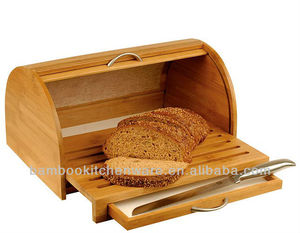 Nature Beauty Bamboo bread bin