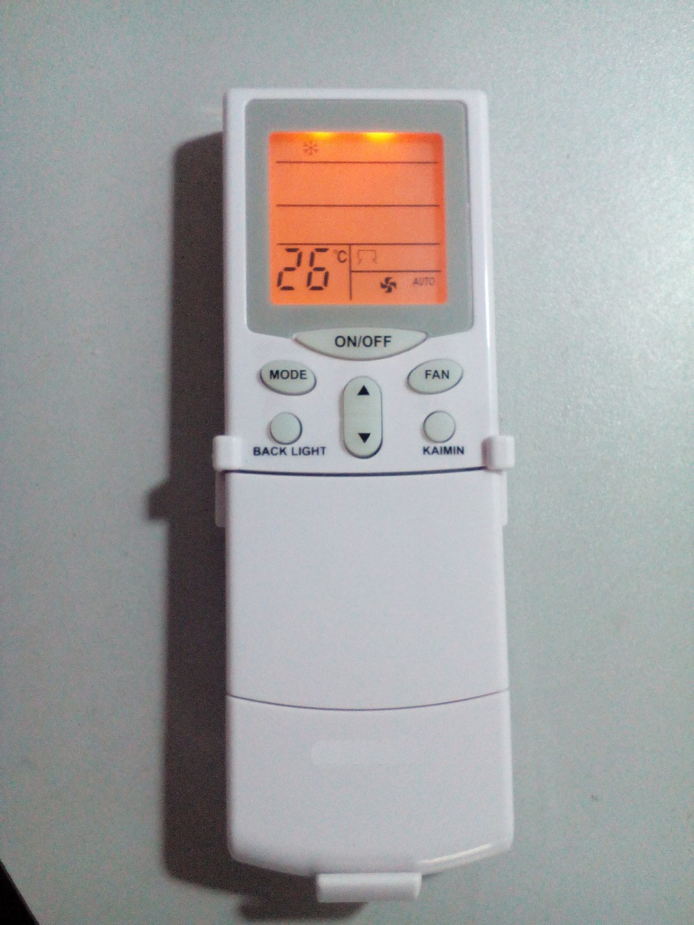 Ac Remote Control With Lighting Keypad For Hitachi Air