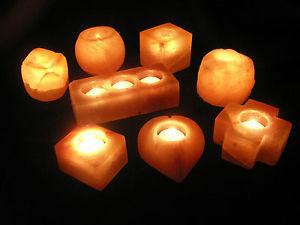 Himalayan Salt Stone Candle Holders Lamp Product On Alibaba