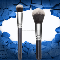 Personalized makeup brush set custom logo private label synthetic hair make up brush