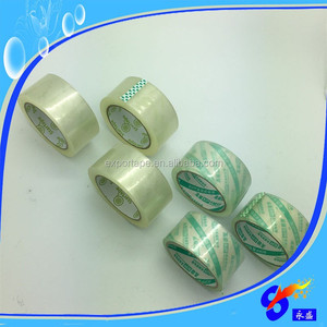 Commercial grade clear packing tape 2'' x 110 yds from China factory