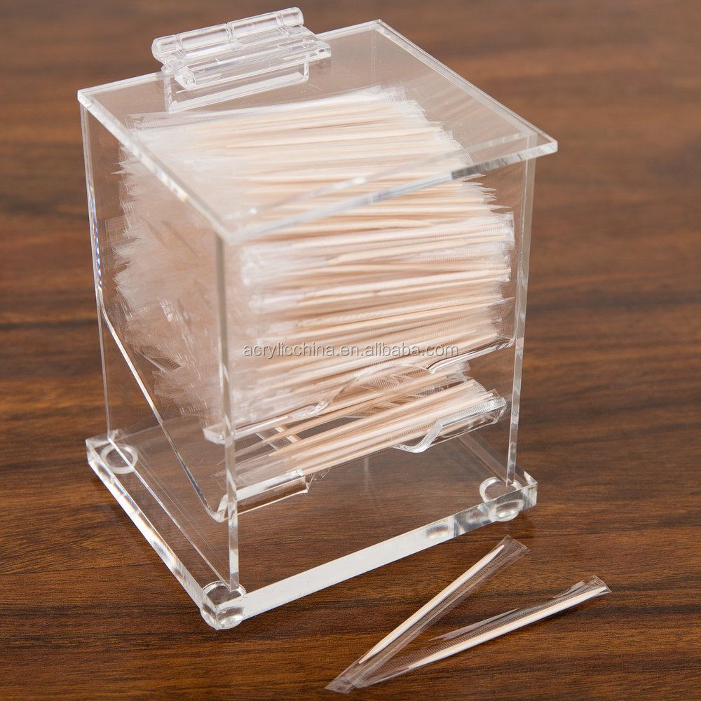 Automatic acrylic Toothpick Dispenser