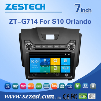 In Car Audio System For Chevrolet Orlando Parts S10 Touch Screen Dvd
