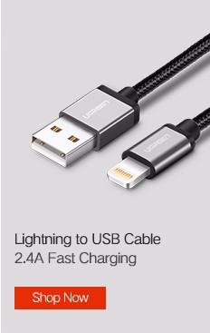 Ugreen USB Type C Cable for Samsung Galaxy S9 USB Cable to Type C Fast Charging Data Cable for Xiaomi Mi6 Nintendo Switch USB-C 4