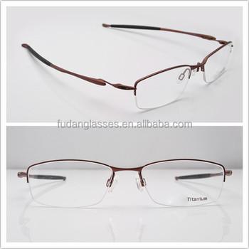 Fashion Eyewear Optical Frame Half-rim Eyeglasses Frame Transistor ...