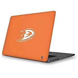 NHL Anaheim Ducks MacBook Pro 13 (2013-15 Retina Display) Skin - Anaheim Ducks Color Pop Vinyl Decal Skin For Your MacBook Pro 13 (2013-15 Retina Display)