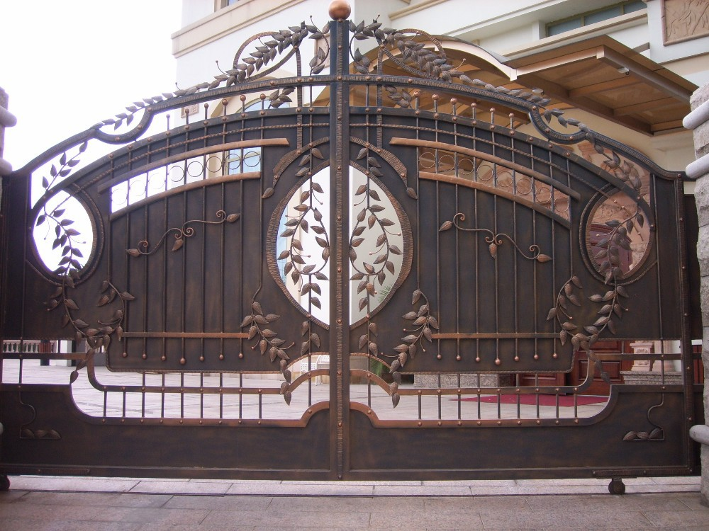 Merveilleux New Latest House Iron Factory Main Gate Designs   Buy Simple Gate Design  For Home,Factory Main Gate Designs,Main House Iron Gate Design Product On  Alibaba. ...