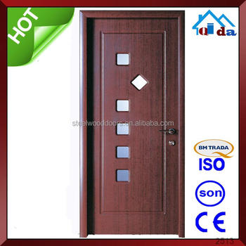 Ghana Design White Color Hdf Pvc Interior Door Price Buy Pvc