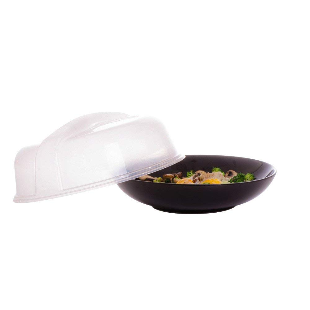 Funnytoday365 237.526Cm Anti-Sputtering Cover Food Splatter Guard Microwave Hover Cookware Lids Covers Sep8