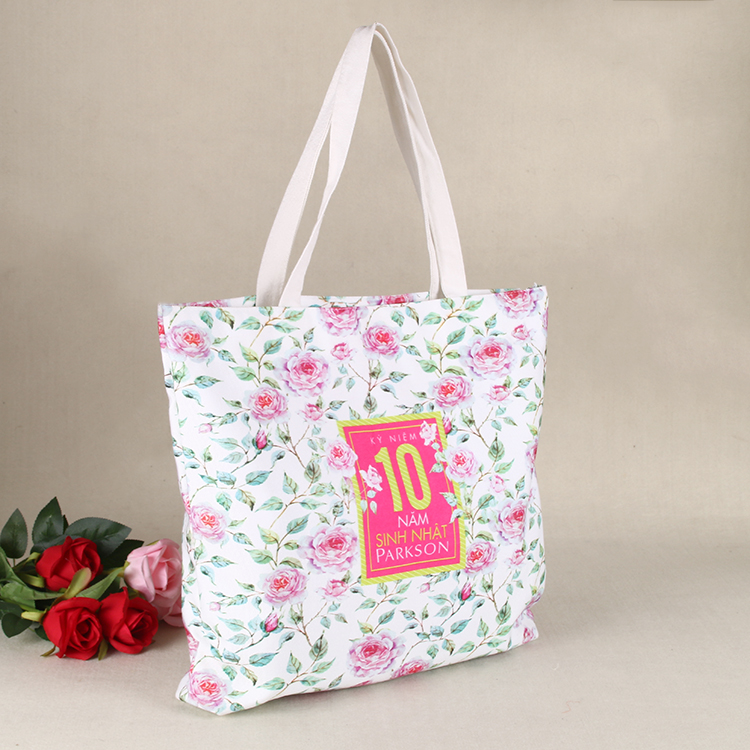 BSCI factory audit reusable cotton bag/canvas cotton bag printed shopping bag