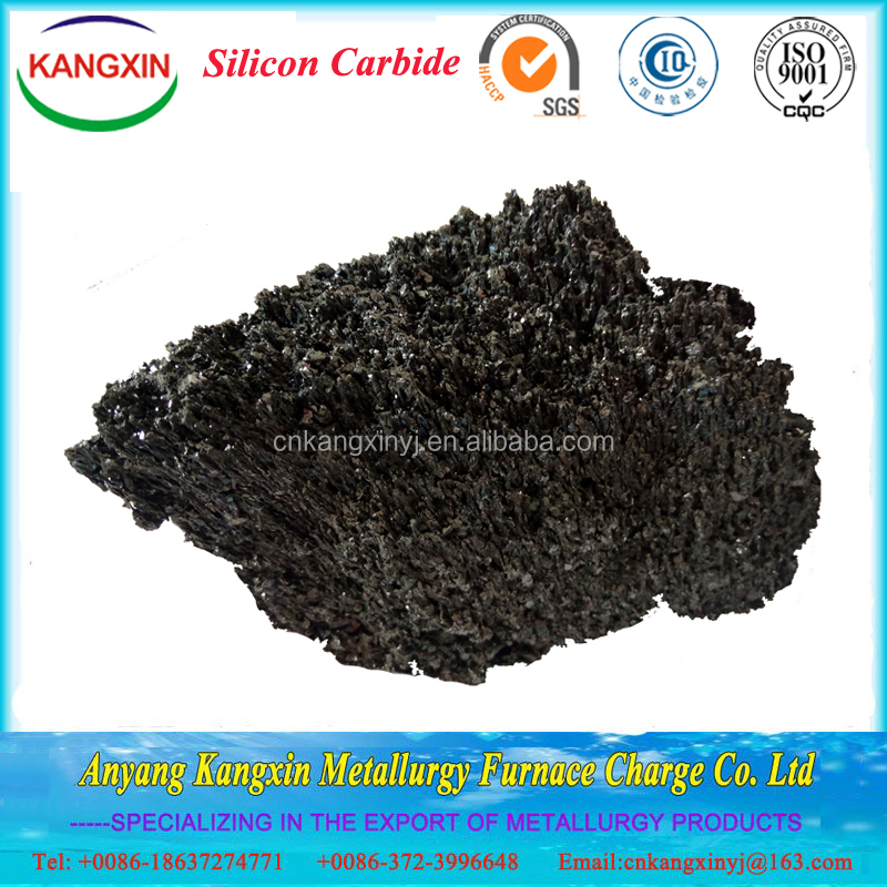 low price high quality pure black silicon carbide powder