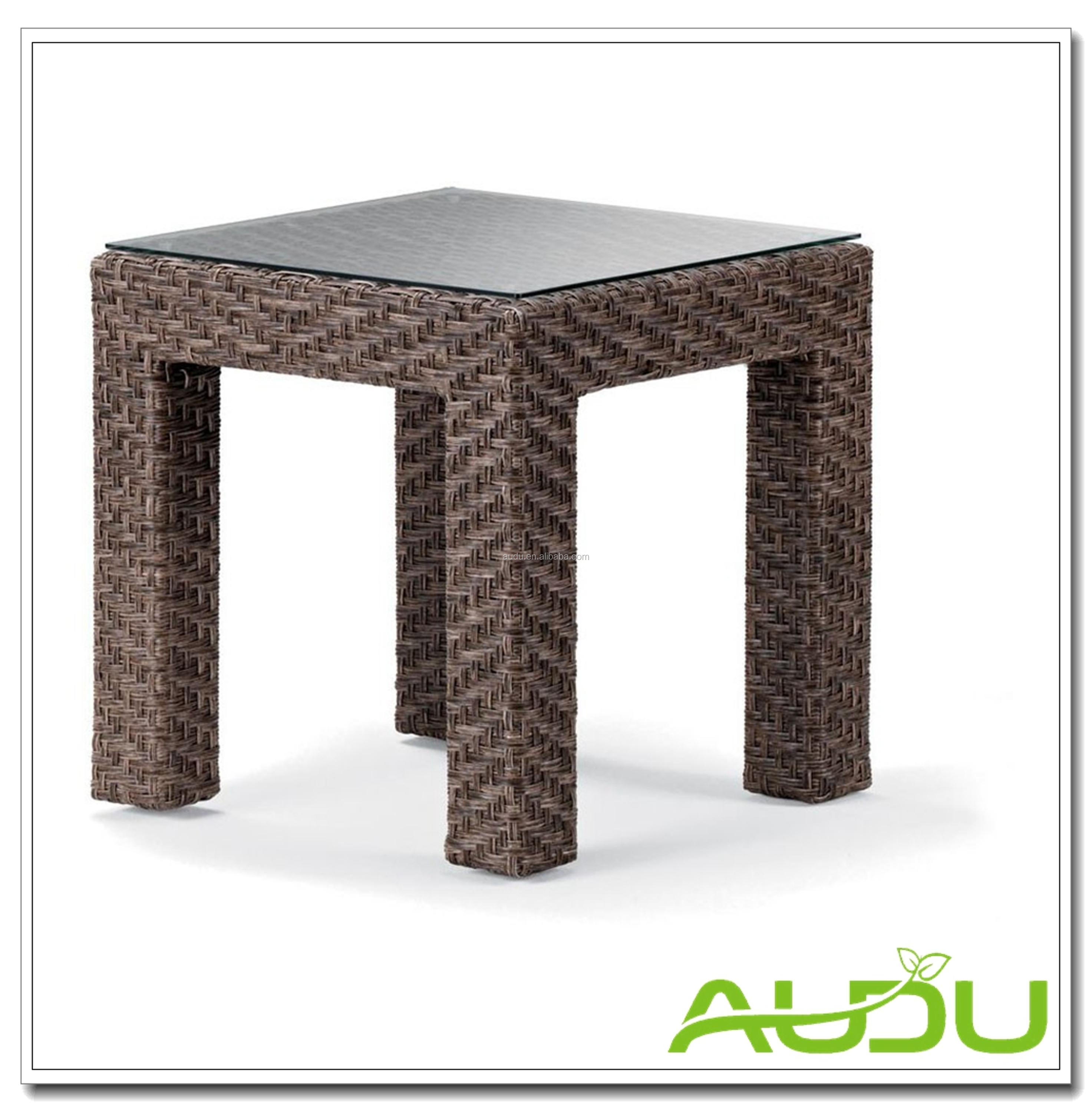 Audu 4 Persons Brown Rattan Patio Furniture Garden For USA Market