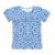 Best selling products ruffle design kid clothing wholesale tops for girls