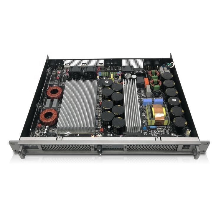 Профессиональный аудио высокое качество D4 цифровой усилитель 1200W класса D усилитель