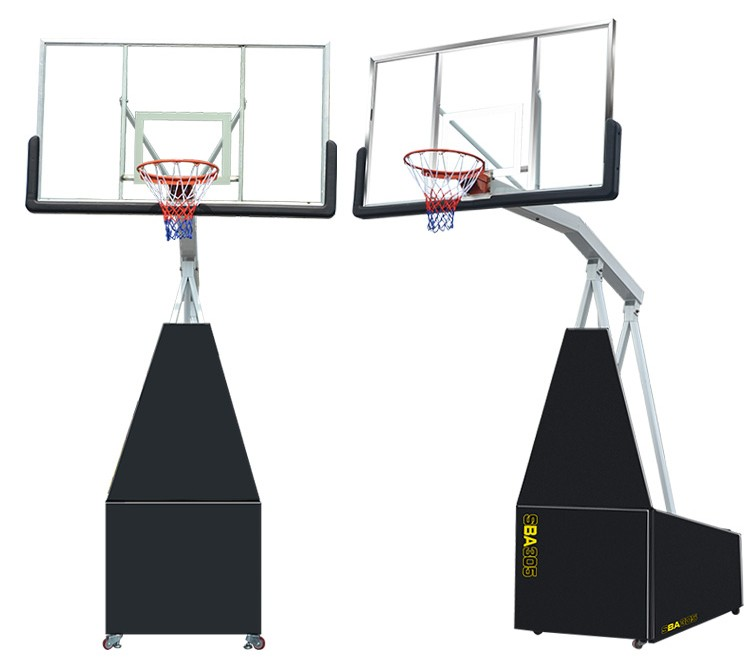 high quality standard hydraulic basketball stand