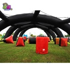 Customized Inflatable paintball Arena, Inflatable Paintball Bunker Field Arena lasertag