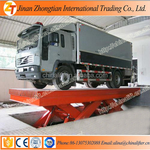 Full automatic vehicle equipment/scissor lift car lift platform with CE small elevator