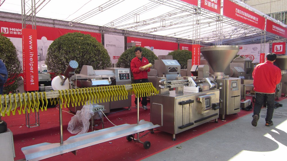 Specialized in sausage production line, industrial sausage making machine