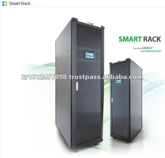 Completely Enclosed Self Temperature Regulated Server Cabinet(19 ...