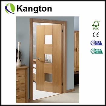 official photos 42586 9d54a Catalonia Oak Internal Door Pre-glazed With Linea Toughened Glass - Buy Oak  Internal Door,Pre-glazed Oak Internal Door,Internal Wood Veneer Door ...