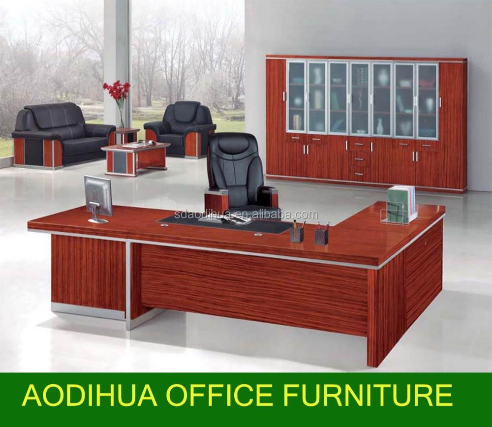 Executive bureau kantoor grote moderne tafel kantoormeubilair a 311 houten tafels product id - Moderne kantoorbureaus ...