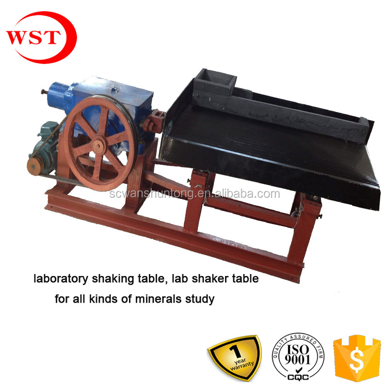 factory price concentration machine, laboratory shaking table for all kinds of minerals