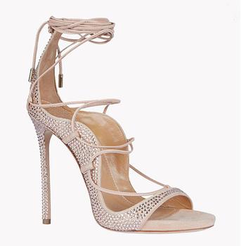 ea8dc648b88 2017 Vrouwen nieuwste hoge hak sandalen Dames naakt bruids schoenen voor  vrouwen Gladiator sandaal sexy super