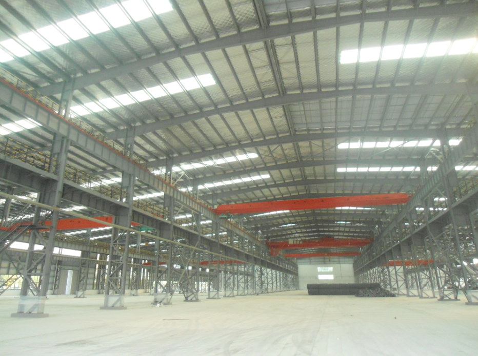 Prefabricated warehouse steel structure shed