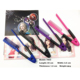 Professional foldable plastic hair salon straightening comb Innovative Clip-Type 7003Hair Comb