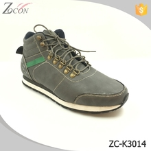 Newest lace-up bronze buckle increase fashion casual shoes for men