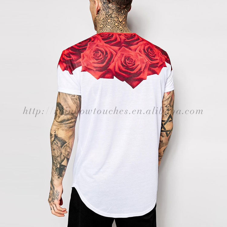 China Manufacturing Custom Design Sublimation Printing Men's T ...