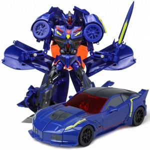 Best Sale Fighter Metal Robot Trans Toy Car for Kids