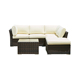 Furniture Comfortable Synthetic Rattan Sofa Set