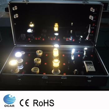 Hersteller Benutzerdefinierte Display Beleuchtung Demokoffer Metall Led  Lampen Testkit