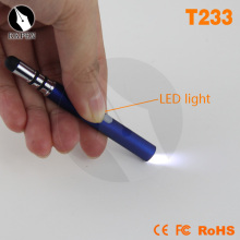 Shibell mini Multifuction stylus pen with led light