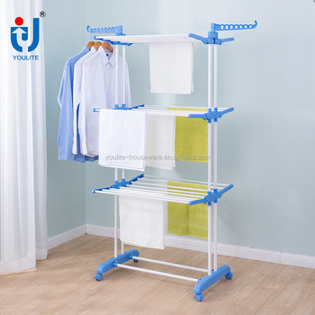 Three Layer Stainless Steel Clothes Drying Rack Buy Clothes Drying