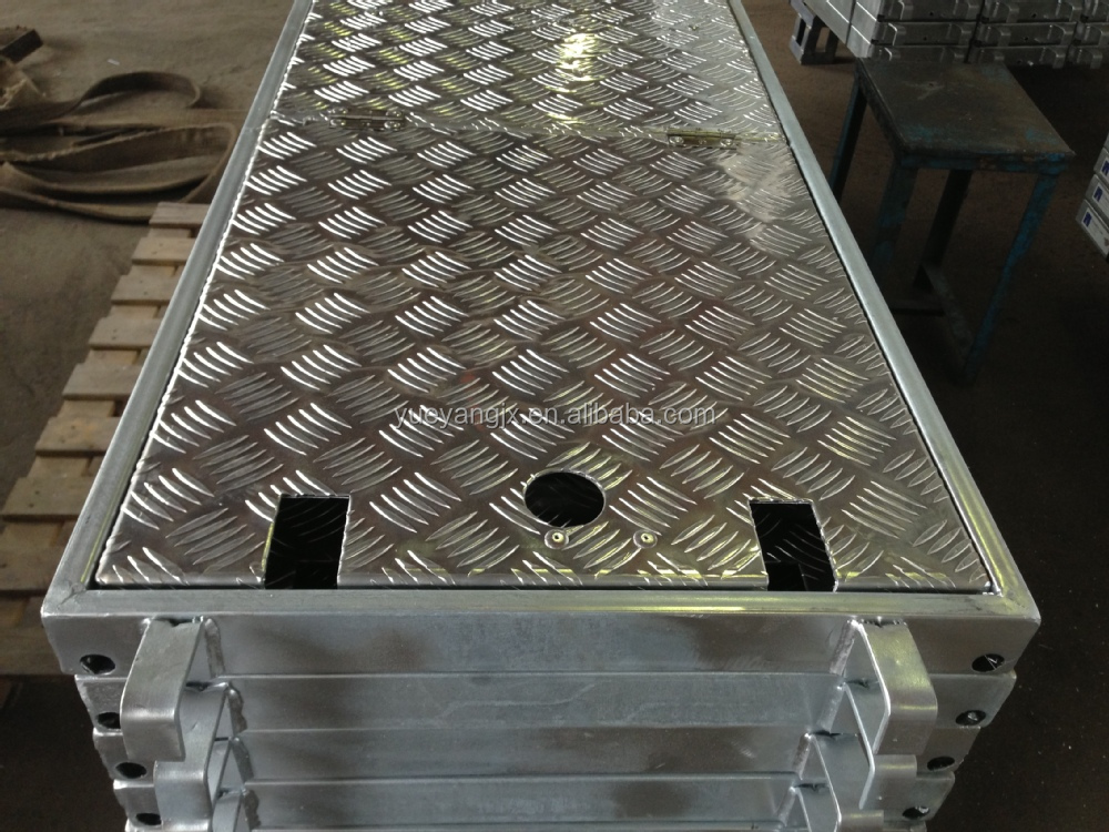 Aluminum Scaffold Deck : Aluminum scaffold plank deck in layher style buy