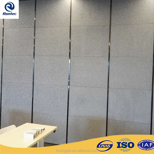 Interior Wall Acoustic Panels For Sound Insulation Board