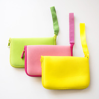 Updated colorful neoprene pencil pouch