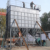 Bolted grain seed storage square silo