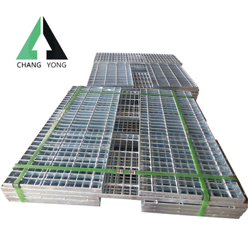 outdoor steel grating stair tread
