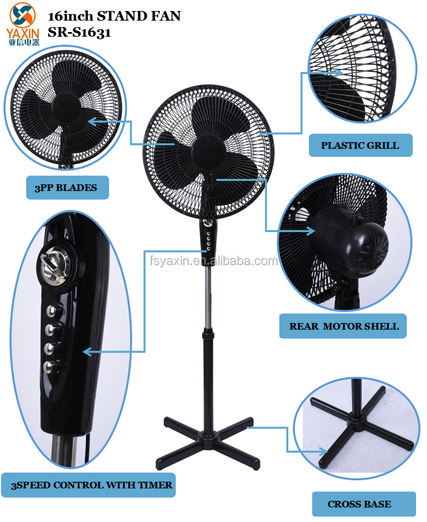 Air Fan Types : Quot air cooling fan type and floor installation stand