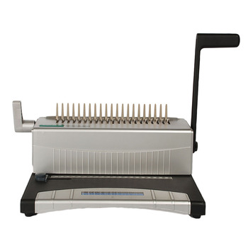 Best Quality Office Stationery Manual Sprial Coil Comb Binding Machine From  Bright Office - Buy Comb Binding Machine,Coil Binding Machine,Spiral